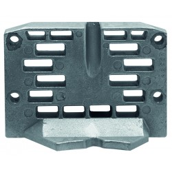 anode plaque sous embase OMC, 982277, 952438