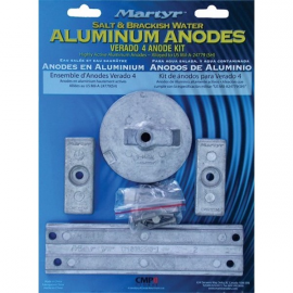 KIT Anodes embase MERC. VERADO 4-OPTIMAX