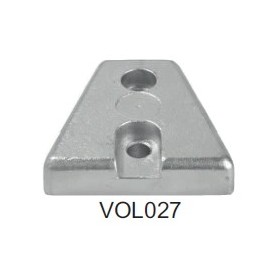 Anode Volvo embase DPX- Plaque