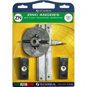 Kit anodes Mercury F30, F40, F60