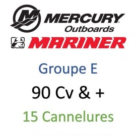 90 Cv & + - 15 Cannelures