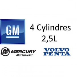 Refroidissement GM 4 cylindres, 2.5L