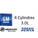 OMC / Volvo GM 4 Cylindres, 3.0L